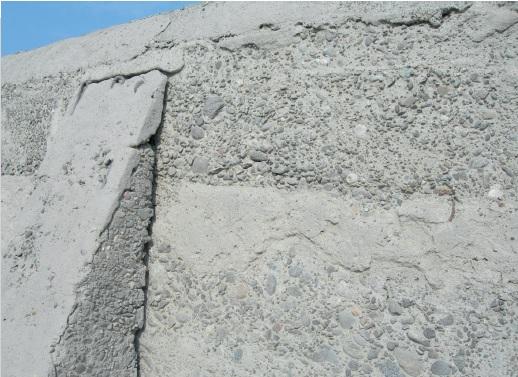 Причина разрушения бетона олен бетон кола